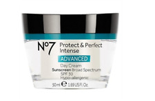 Boots No7 Protect & Perfect Intense Advanced Day Cream SPF 30 1.69 oz New Sealed