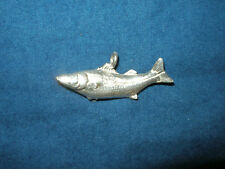 NEW STERLING SILVER NAUTICAL SNOOK FISH PENDANT MARINE SEALIFE