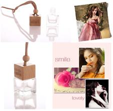 Perfume Bottle Car Essential Oils Pendant Air Freshener Mini Diffuser 8ml