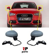 Audi A1 10-18 Right Hand O//S Heated Wing Mirror Glass Aspherical