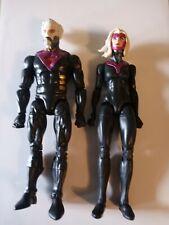 """Marvel Legends Haslab Bastion & Female Sentinel 6"""" Figures In hand"""