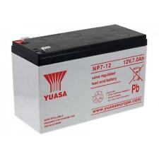 YUASA NP7-12 Batteria ORIGINALE 100%  ermetica al piombo 12V 7Ah