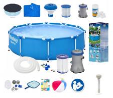20in1 Bestway Piscina Jardín 305cm 10FT Marco Redondo piscina de tierra + conjunto de la bomba