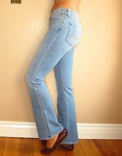Seven 7 For All Mankind $215 Original Bootcut High Waist Petite Light Jeans 31