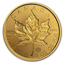 2019 Canada 1 oz Gold Incuse Maple Leaf BU - SKU #189408