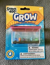 GROW AQUARIUM WATCH YOUR FISH GROW UP TO 400% IN WATER IN THEIR OWN TANK! PINK