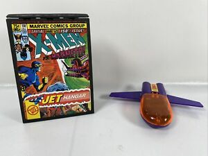 Toy Biz 1994 Marvel Comics X-Men VS. Magneto Pocket Comics Jet Hangar W/ Jet