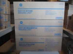 Original Konica Minolta Imaging Unit Set IU311 Y M C für C300 C352 Neu&OVP