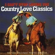 Country Love Classics: I Cant Stop Loving You, Various Artists, Used; Good CD