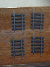 Hornby R610 Short Straight x 4 Pieces. Series 6. Steel. OO Gauge.