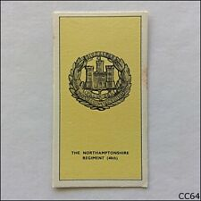 Walters Toffee Card Some Cap Badges of Territorial Regiments 1938 #35 (CC64)
