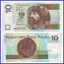 Pick 173a  Polen / Poland 10 Zlotych 1994 Unc. / 6646297m