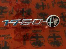 ALFA ROMEO VELOCE GTV 1750 DUETTO 105 DASH EMBLEM BADGE OEM BOMISA ORIGINAL