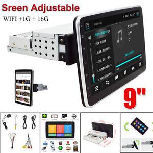 "1 Din 9""Android 9.1 Car Multimedia Radio GPS WiFi/Hotspot 360° Rotation Screen"