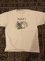 PUSHA T x Fool's Gold T-Shirt Mens Size LARGE White