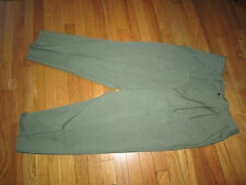 Women Briggs Green Pleated Front Part Elastic Waist Pants Size 14 Good Condition