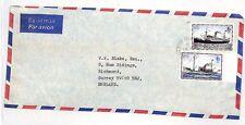SS346 1979 * * Puerto Stanley Islas Malvinas Surrey GB Cubierta {samwells-cubre} Pts
