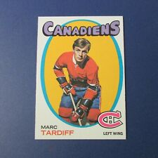 MARC TARDIF 1971-72  TOPPS  # 29 Montreal Canadiens  MINT Quebec Nordiques 1972
