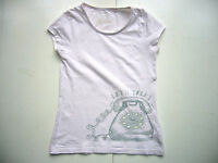 GIRLS T-SHIRT TOP PINK TELEPHONE DESIGN AGE 12-13 YEARS M&Co.