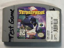 Tetrisphere Video Game Cartridge Nintendo N64 Tested Works Authentic