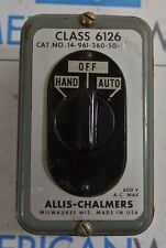 Allis-Chalmers Class 6126 Cat:14-961-260-005 HOA Hand Off Auto - NEW OLD STOCK