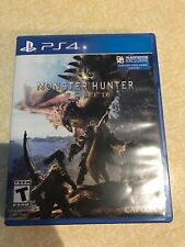 Monster Hunter: World (Sony PlayStation 4, 2018)