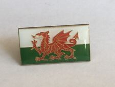1 Welsh Flag Enamel Pin Badge, Welsh Dragon, Wales Flag.