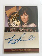 Battlestar Galactica Season 1 Autograph Card - Mary McDonnell - President Roslin