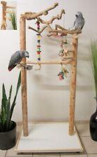 Freisitz HEAVEN Java/Rotbuche,Papageienspielzeug,mit Wendeltreppe,Neuheit 2020