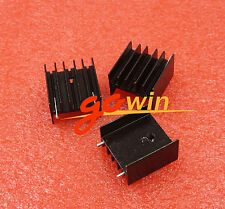 5pc 00003173 s Aluminum Heat Sink With Needle for Arduino Mtda7294 L298 25 * 24 * 16mm
