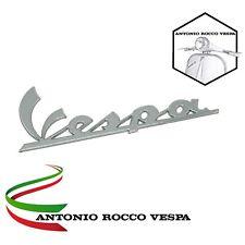 TARGHETTA SCRITTA ANTERIORE ADESIVA 10 CM VESPA 50 125 150 300 LX GTV GTS SUPER