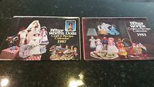 2 Mrs ButterWorth's Syrup Bottle Doll Pattern Craft & Recipe 1983 1987 Calendars