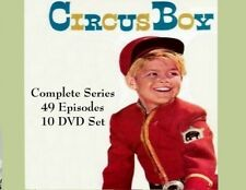CIRCUS BOY  Complete Series 1956-1958  49 Episode 10 DVD Set