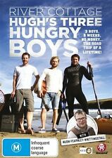 River Cottage - Hugh's Three Hungry Boys (DVD, 2013)-REGION 4-Free postage