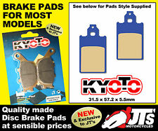 FRONT DISC BRAKE PADS TO SUIT TOMOS Revival / Revival TS (03-04)