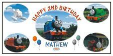Personalized Thomas the Train Tank Engine and Friends Birthday Banner Free Ship