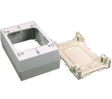 Wiremold 2348S-51 - 1 Gang Shallow Device Box - Ivory (case of 5)