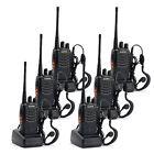 6 * Baofeng BF-888S Walkie Talkie 2 Two Way Radio Handheld Long Range GMRS