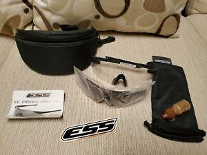 US Military ESS ICE Dual Eyeshield System Ballistic Eye Protection
