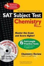SAT Subject Test Chemistry with CD-ROM (REA)--The Best Test Prep for the SAT II: