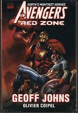 AVENGERS THE RED (SKULL) ZONE MARVEL HARDCOVER GN TPB GEOFF JOHNS OOP SEALED NEW