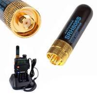 SRH805S SMA-F Female Antenna 5cm Dual Band VHF/UHF144/430MHz Portable Radio