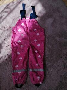 Matschhose für Mädchen, Gr. 98,rosa