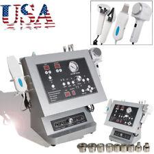 4 in1 Diamond Microdermabrasion Ultrasound Cold Hot Hammer Skin Scrubber Machine