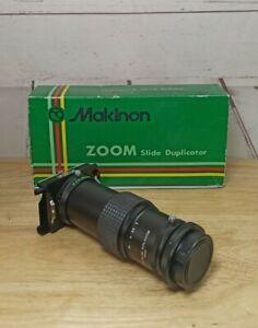 Makinon Zoom Slide Duplicator M42 Mount in Orignal Box