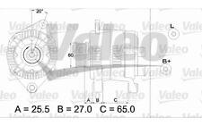 VALEO Alternador para CITROEN JUMPER PEUGEOT BOXER FIAT DUCATO 437349