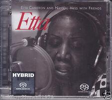 Etta Cameron and Nikolaj Hess with Friends Audiophile Hybrid Stereo SACD CD New