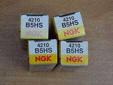 4x Ngk Bujías B5HS 4210 NUEVO