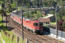 PHOTO  SWITZERLAND 2006 WASSEN MIDDLE LINE HEADING NORTH