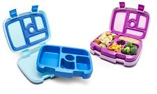 NEW Set of 2 Bentgo Kids Lunch Boxes (Purple and Blue)